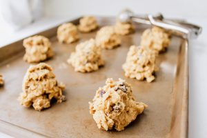 Chewy Oatmeal Chocolate Chip Cookies cookie dough