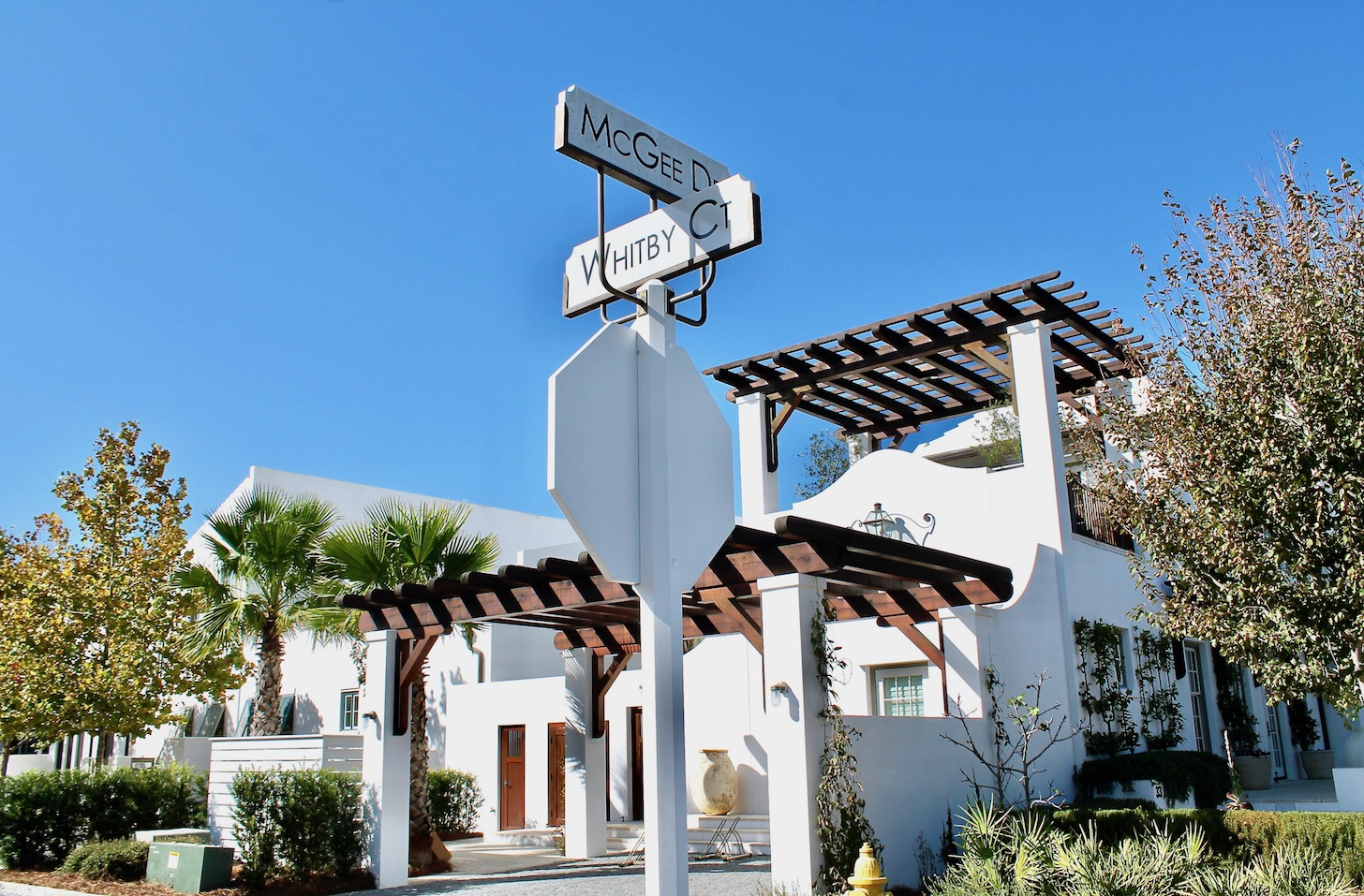 Explore the gorgeous streets of Alys Beach, FL.