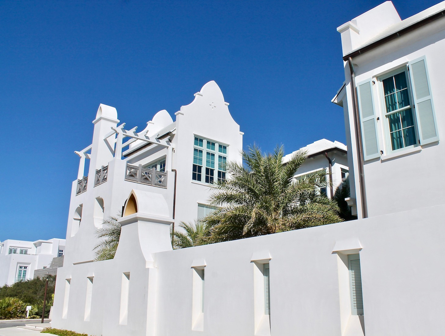 Explore the gorgeous streets and residential houses of Alys Beach, FL.