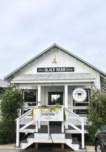 Go for breakfast and coffee at Black Bear Bread Co in Grayton Beach, FL.