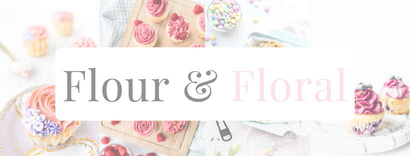 Flour & Floral Facebook blog food photography baking