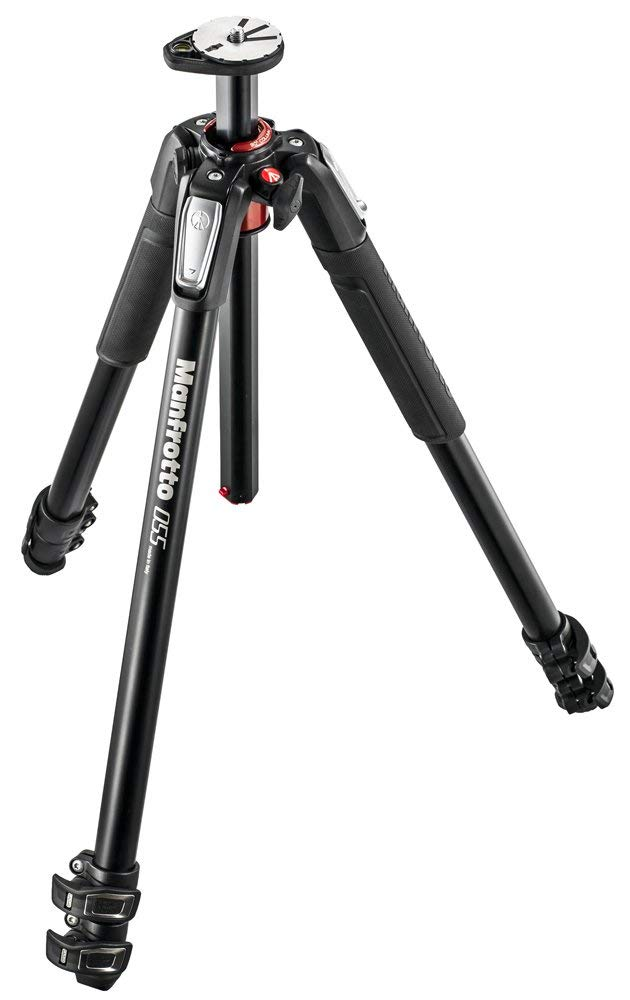 Manfrotto 055 Aluminum 3-Section Tripod with Horizontal Column (MT055XPRO3) Food Photography Gear