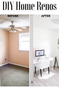 Home Renos Office Makeover DIY fixer upper