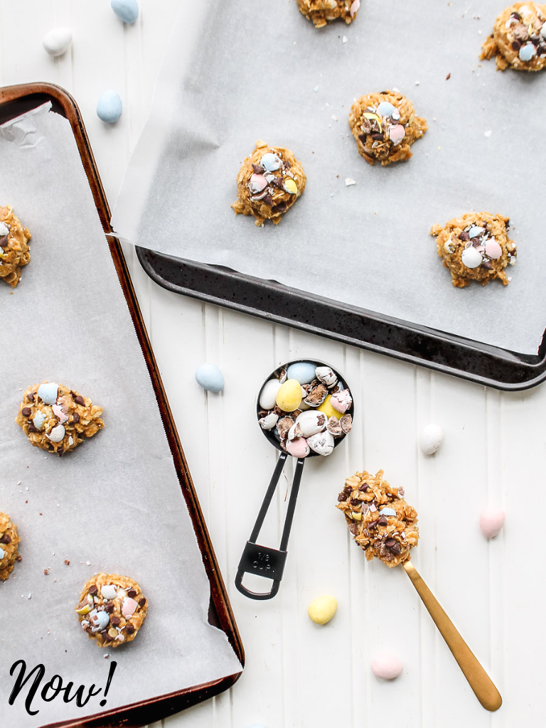 Food Photography tips cookie dough after photo