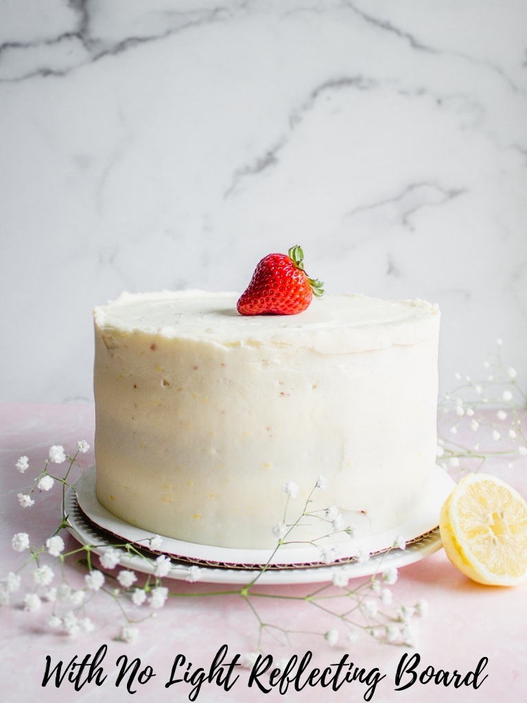 Food Photography tips natural light behind the scenes cake