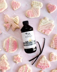 Rodelle Gourmet Pure Vanilla Extract Sugar Cookies