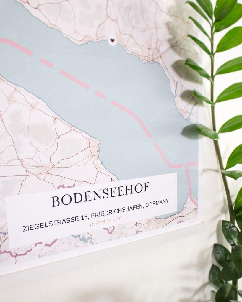 GrafoMap Bodenseehof Bible School Germany Custom Map
