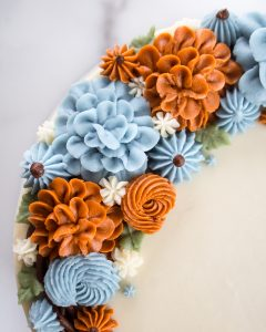 Buttercream Recipe Autumn Wreath Cake